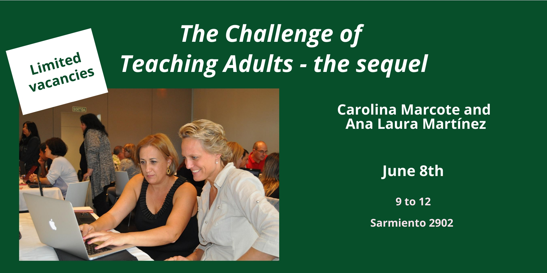 The Challenge of Teaching Adults – the sequel
