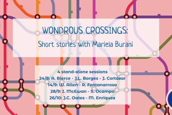 Wondrous Crossings: reading short stories with Mariela Burani