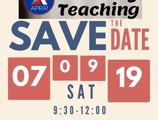 Sharing Teaching: Save the Date