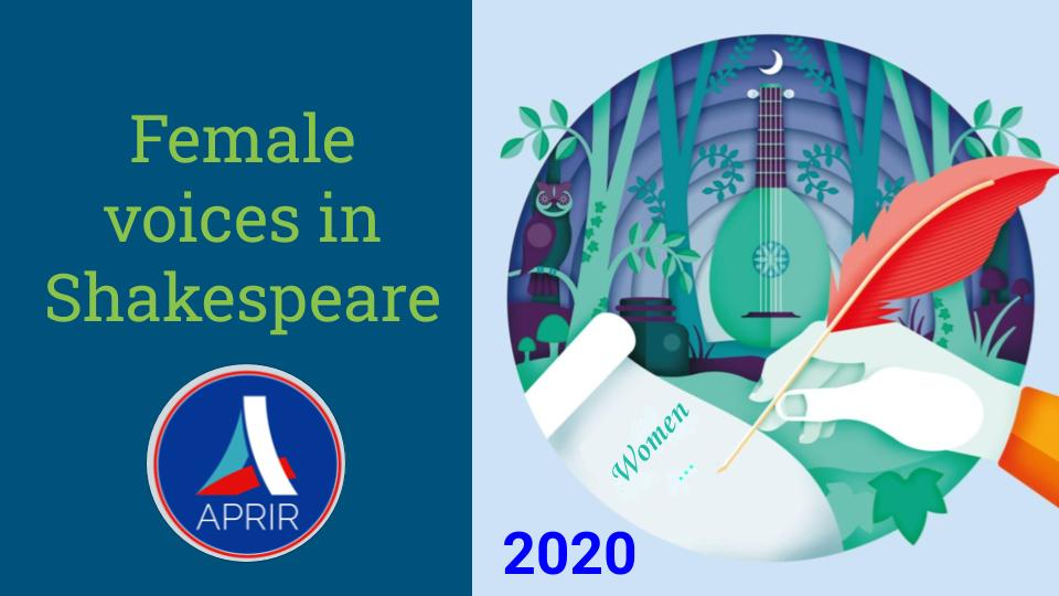 Female voices in Shakespeare